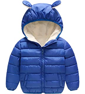 TAIYCYXGAN Unisex Baby Toddler Boys Girls Winter Outwear Jacket Warm Fleece Zip Up Coat Cotton Overcoat