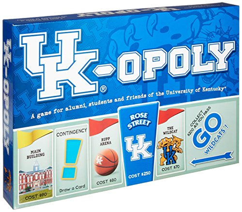 Late for the Sky University Of Kentucky Monopoly
