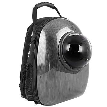 CityBAG - Mochila para transporte de mascotas gato y perro Transportin de plástico rígido gris: Amazon.es: Electrónica