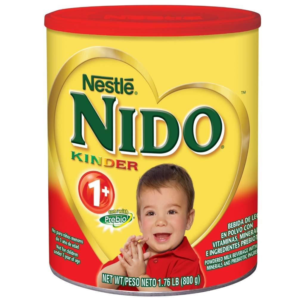 NESTLE NIDO Kinder 1+ Powdered Milk Beverage 1.76 lb. Canister (4 pack) by Nido (Image #2)