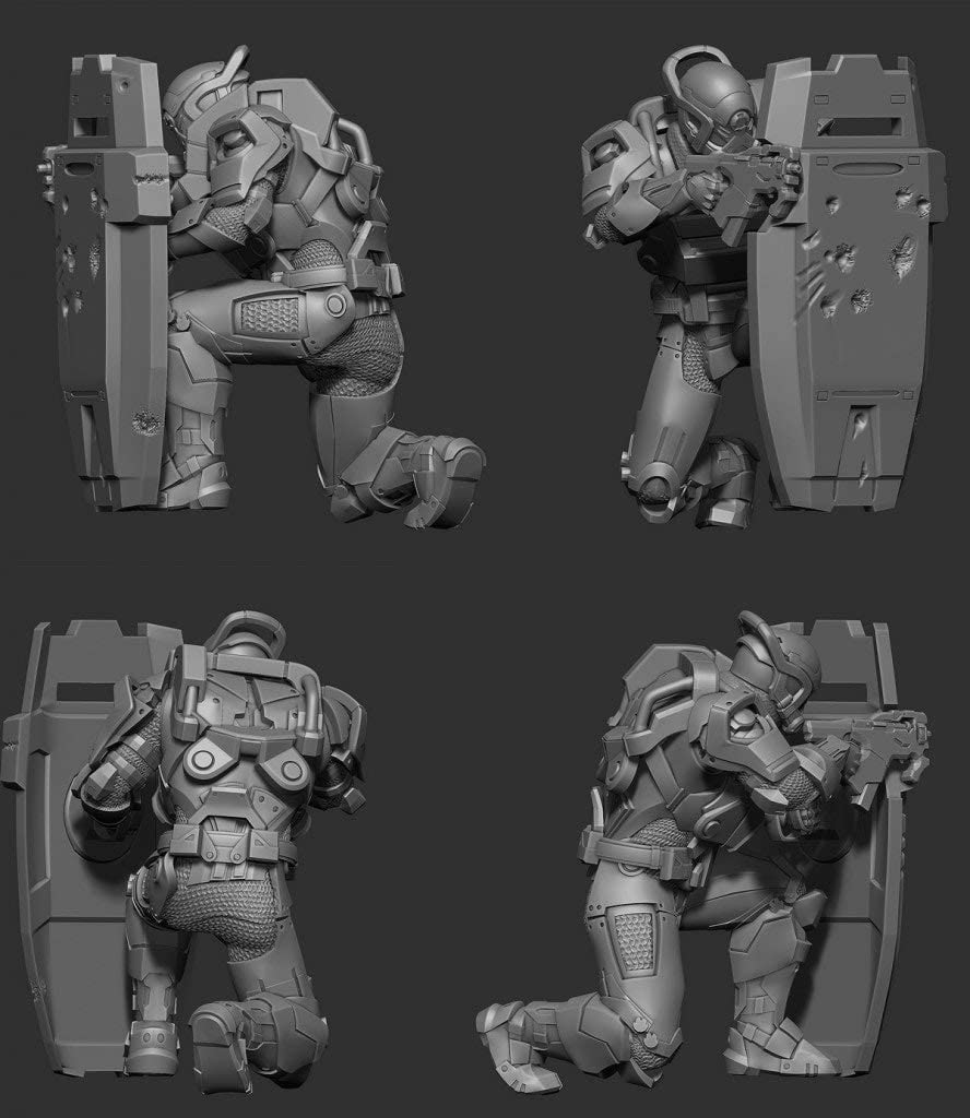 Cerberus Trooper Mass Effect Titans Normandy 3-Inch Vinyl Mini-Figure