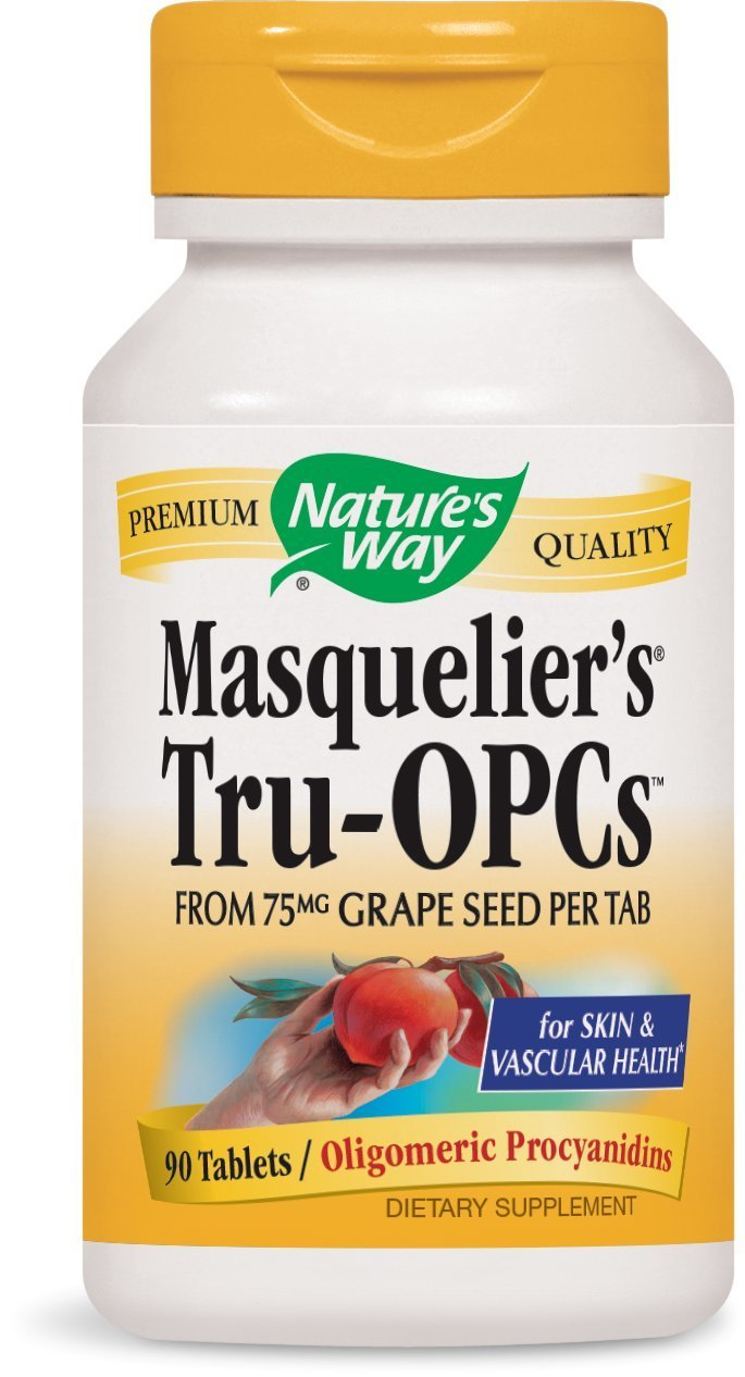 Nature s Way Masquelier s Tru-OPCs, 150 mg per serving, 90 Tablets