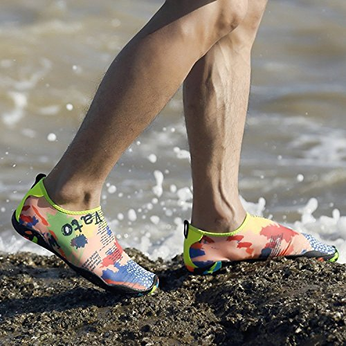 da da Immersione Ragazzi Donna Spiaggia Uomini Mare Yoga Ballo Bagno Multicolore da Super Leggere Scoglio Scarpette Unisex Traspirante LeKuni Scarpe Elastico 39 Antiscivolo Scarpe Materiale qt51En