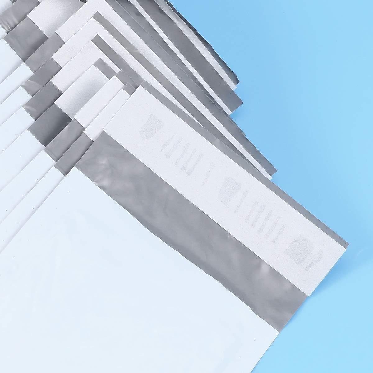 50pcs NUOBESTY Poly enveloppes /à bulles envelopp/ées rembourr/ées auto-scellant des sacs dexp/édition dexp/édition pour lenvoi lemballage