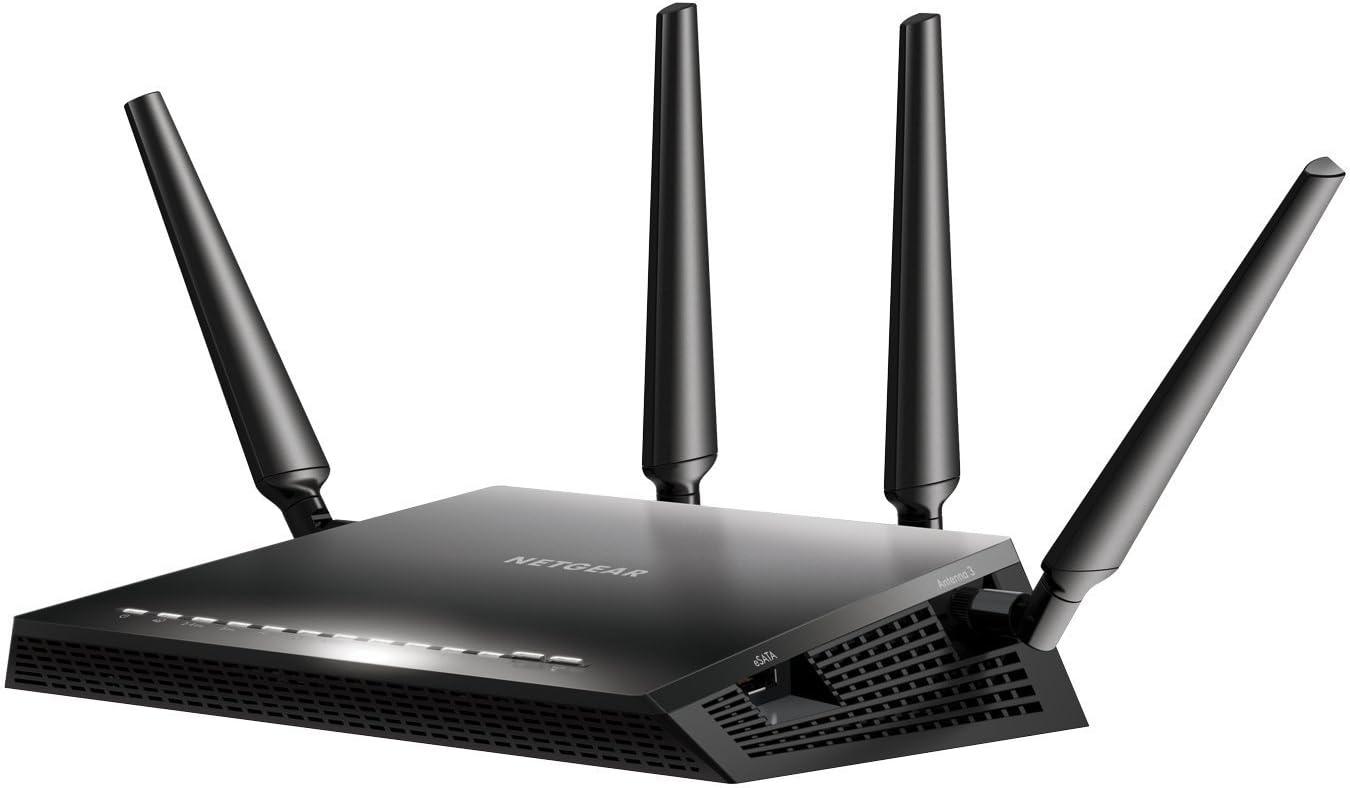 NETGEAR Routeur WiFi Nighthawk (R7800), AC2600, 4 Ports Ethernet Gigabit, 2 Ports...