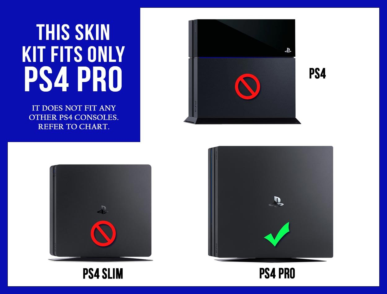 sony playstation 4 pro. amazon.com: sony playstation 4 pro skin (ps4-pro) - new brushed gold metal air release vinyl decal console mod kit by system skins: video games playstation a