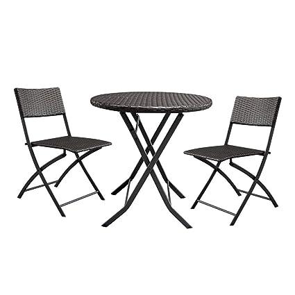 Wondrous Amazon Com Harborii Foldable Round Coffee Table And Modern Theyellowbook Wood Chair Design Ideas Theyellowbookinfo