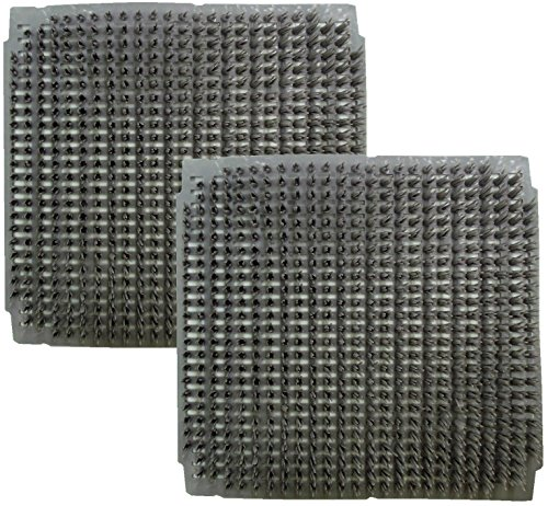 Rite Farm Products 2 Pack of Washable Poly Nesting Box PAD MAT Bottom for Chicken COOP Hen House Poultry Duck NEST Liner