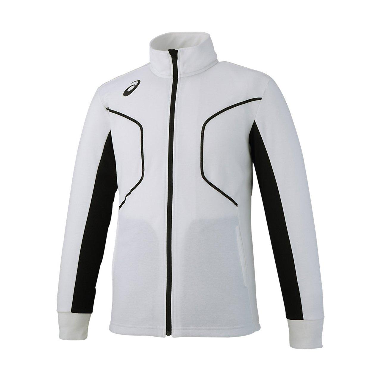 [アシックス] トレーニングウエア トレーニングジャケツト [メンズ] XAT300 B078Z9D156 XXXX-Large|01:ホワイト 01:ホワイト XXXX-Large