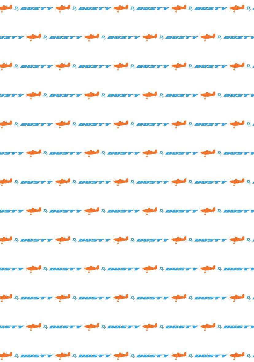 CTI 040450 Drap Housse Imprimé Planes Dusty/Skies Calling Blanc à