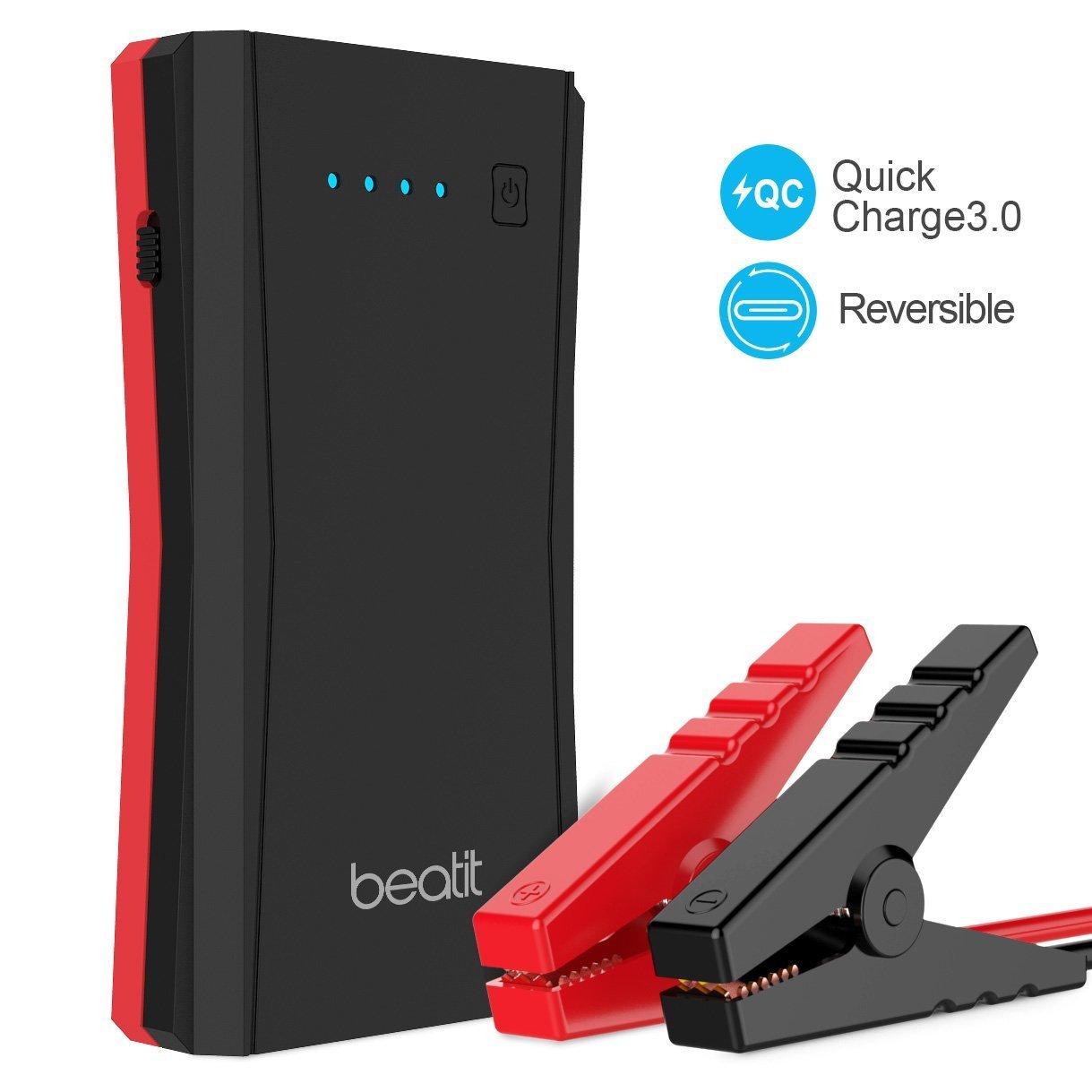 Cargador bateria coche Beatit car jump starter portátil arrancador de coche A