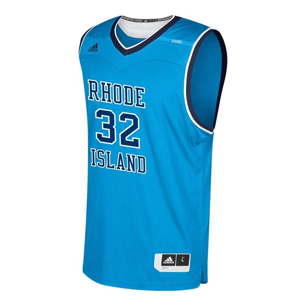 best service 689df 0cc15 Amazon.com : adidas Rhode Island Rams NCAA 32 Light Blue ...