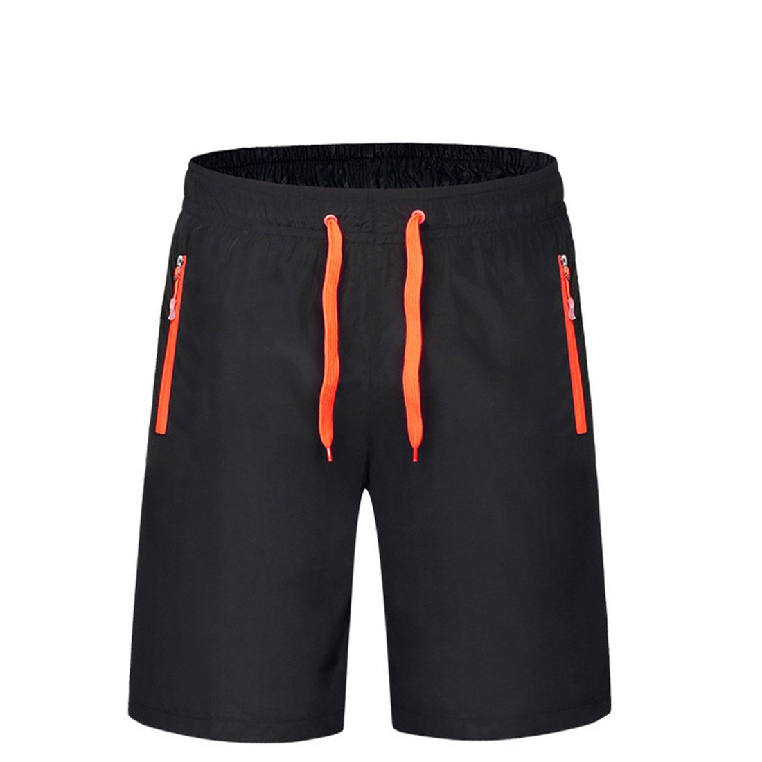 Sidiou Group Pantalones cortos deportivos para hombres Shorts finos de verano Quick Dry Pantalones de running transpirables Fitness Trianing Short Pantalones casuales Poliéster