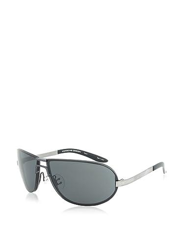 Amazon.com: Porsche Design anteojos de sol P8418 C Negro Y ...