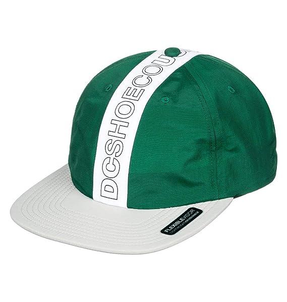DC Gorras Baffles Green/White/Grey Snapback: Amazon.es: Ropa y accesorios