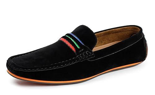 Jas Hombre Conducción Zapatos Casual sin Cordones Náuticos Mocasines Italiano Mocasin: Amazon.es: Zapatos y complementos
