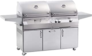 product image for Fire Magic Aurora A830s Dual Propane Gas And Charcoal Combo Bbq Grill On Cart - A830s-5eap-61-cb