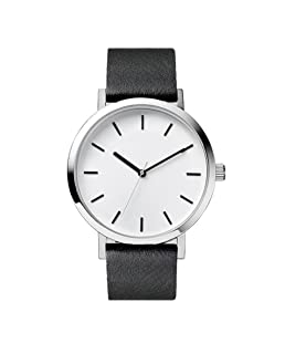 Becoler Casual Leather Band Wrist Watches for Men Women