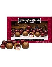 Philadelphia Candies Milk Chocolate Cordial Cherries with Liquid Center, 453.5 gram Gift Box