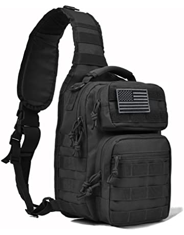 d364925722 REEBOW GEAR Tactical Sling Bag Pack Military Rover Shoulder Sling Backpack  Molle Assault Range Bag Everyday