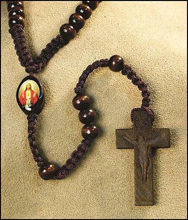 Catholic Sacred Christ Center Necklace product image