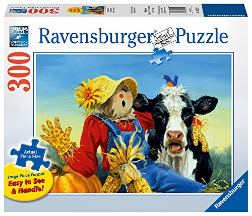 Ravensburger Barnyard Duet Large Format 300 Piece Jigsaw Puzzle Adults – Every Piece is Unique, Softclick Technology Means Pieces Fit Together Perfectly