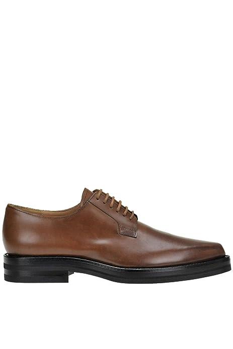 Marrón Zapatos Ezgl093004 De Cordones Dries Van Cuero Mujer Noten gUISFq