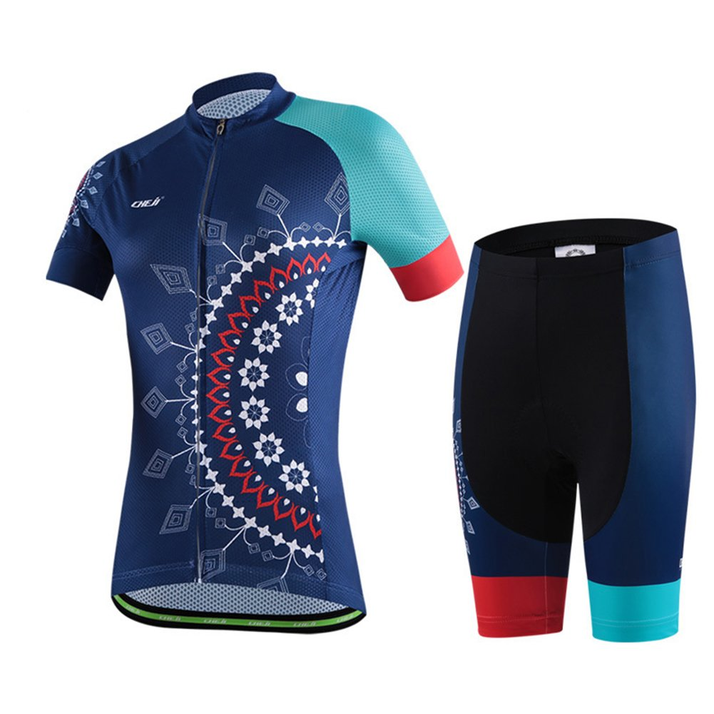 Womens Cycling Jersey Short Sleeve FREE FISHER