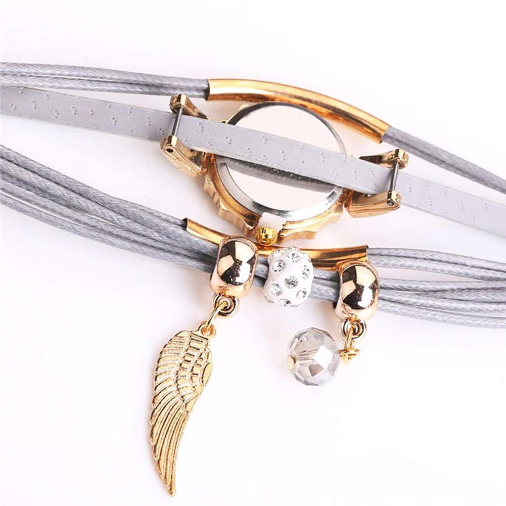 Amazon.com: Women Luxury Angel Wing Bracelet Quartz Bling Wristwatch Rhinestone Clock Ladies Dress Gift Watches ~ Reloj de Mujer de Moda (Blue/Azul): Cell ...
