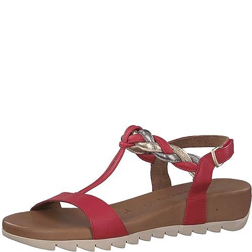 Tamaris touch Sandales confortable sandales plat 28709 Femme chaussures D'été sandales Compensées 22 Compensées 1 It SVpjLqMUzG
