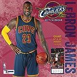 Turner Licensing Sport 2017 Cleveland Cavaliers LeBron Jam Player Wall Calendar, 12''X12'' (17998011779)