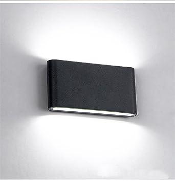 Glighone Applique da Parete Impermeabile a LED 12W Lampada a Muro ...