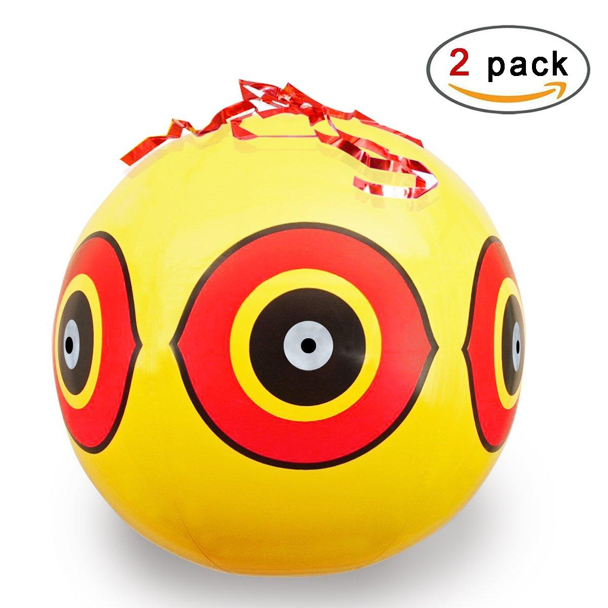 Rocita Bird Repellent Scary Tape Defenders Eyeball Scarer For Bird and Pest
