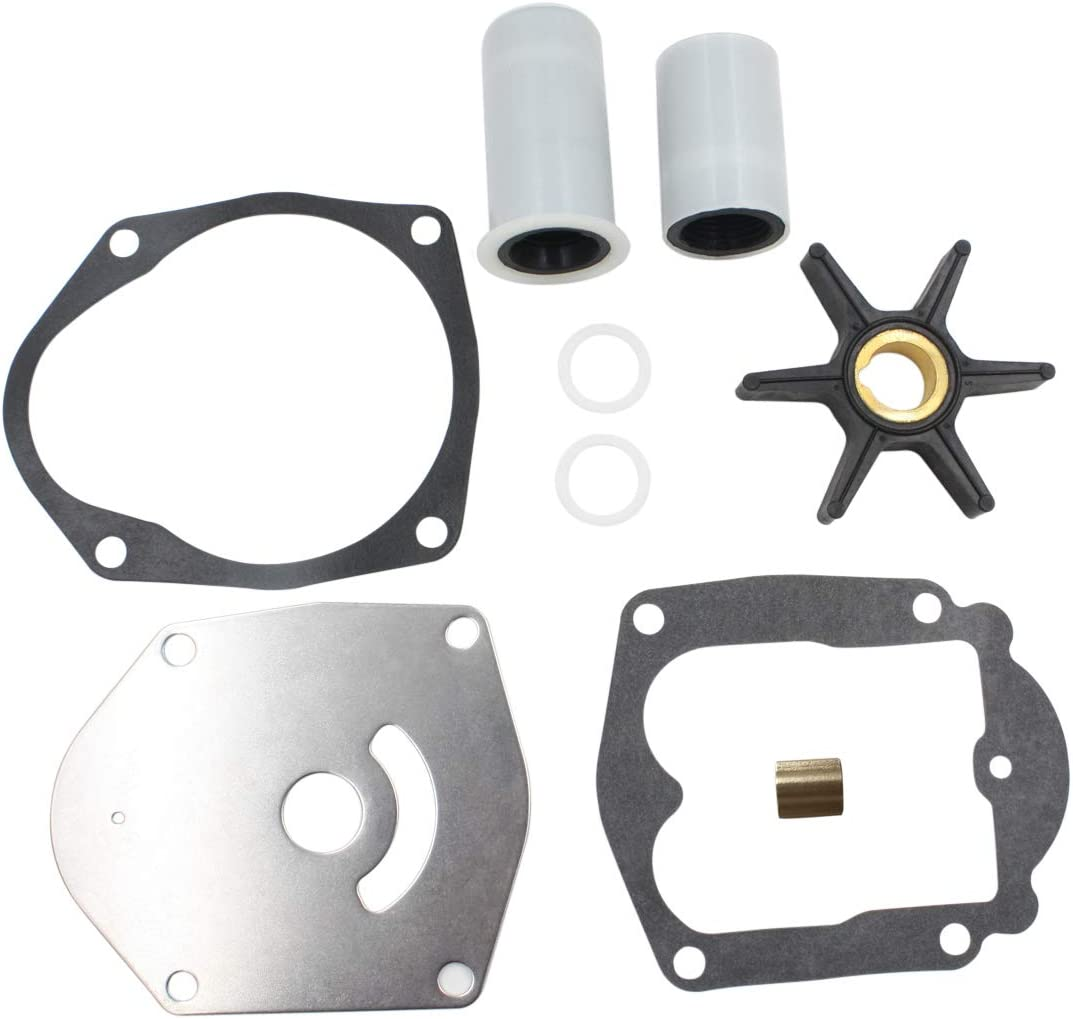 Water Pump Impeller Kit For Mercury Mariner Force 30HP 40HP 45HP 50HP Engine 821354A2 8508910 Outboard 4-Stroke 1998-Up