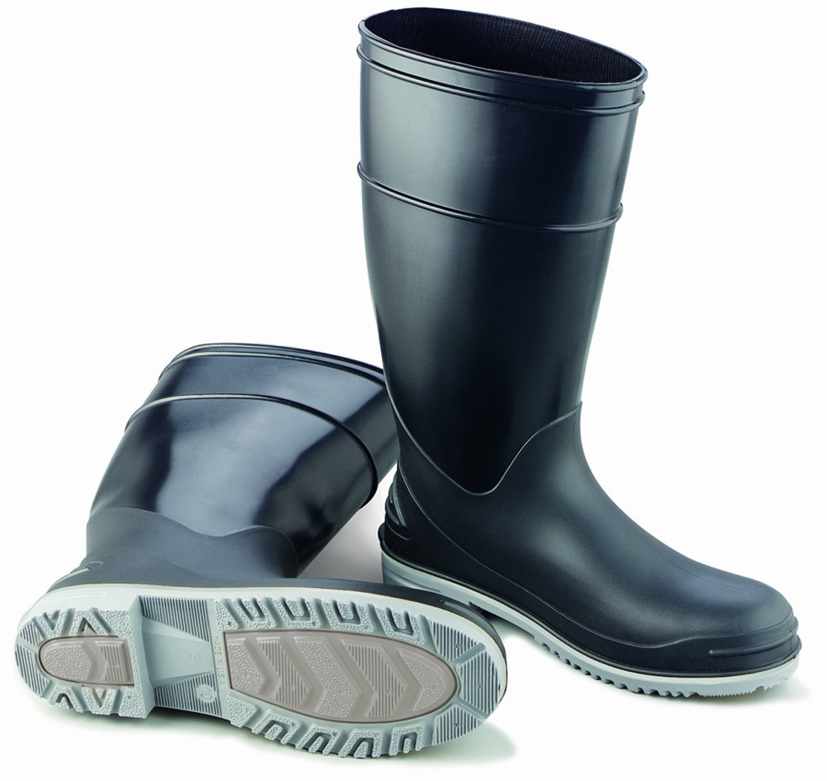 ONGUARD 89682 Polyblend Men's Steel Toe Goliath KneeBoots with Power-Lug Outsole, 16'' Height, Size 7