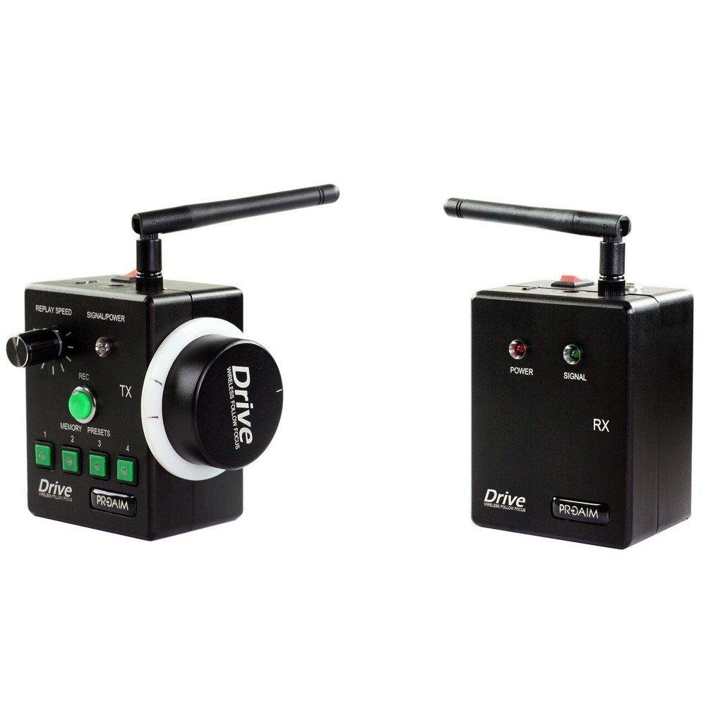 PROAIM Drive Wireless Follow Focus Gear Ring Controller for DSLR Free HARDCASE Sony Nikon Canon panasonic lumix (FF-WRLS-DR)
