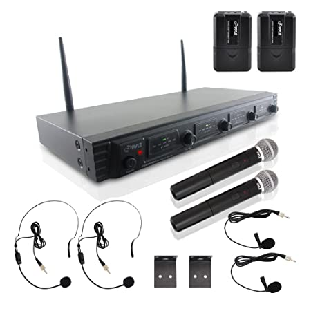 Review 4 Channel Wireless Microphone