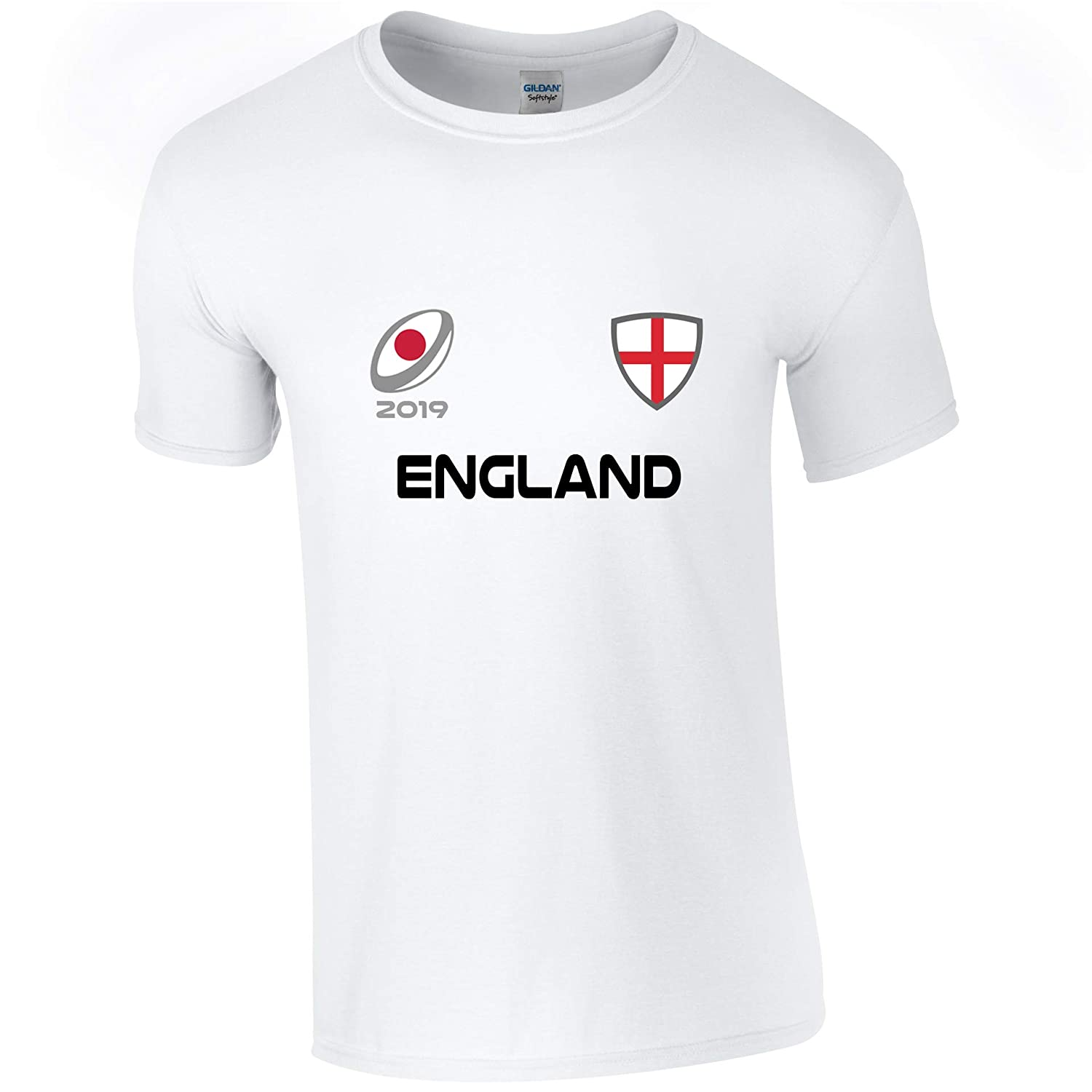 EBUK England Rugby World Cup 2019 Rugby Union Childrens Kids T Shirt