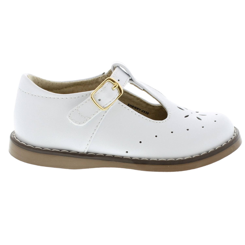 FOOTMATES Sherry (7.5 Toddler M/W, White) by FOOTMATES (Image #2)