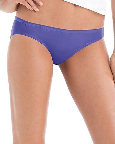 Hanes Womens No Ride Up Cotton Bikini 6-Pack PP42CA