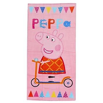 TOALLA PLAYA PEPPA PIG 100% ALGODON 70 X 140