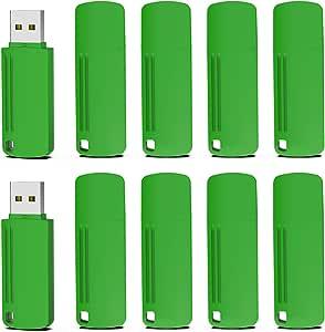 Pendrive 1GB 2.0, KOOTION Memoria USB Flash Drive USB Pendrives, Pack de 10 Unidades, Pen Drive Pen USB Stick 1GB 10 Piezas, Verdes: Amazon.es: Electrónica