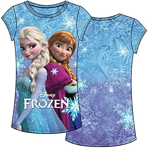 Frozen Sisters Anna & Elsa Girls T Shirt