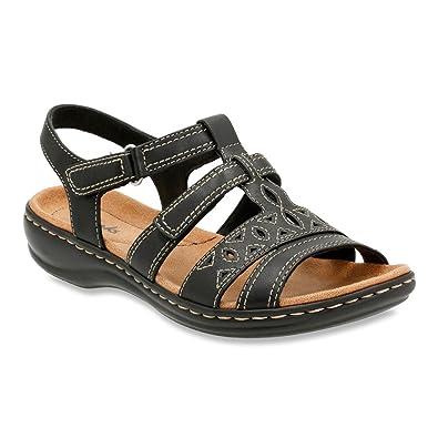 Womens Sandals Clarks Leisa Apple Black