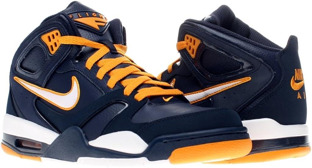 Haz todo con mi poder profundizar Afirmar  Amazon.com: Nike Air Flight Falcon - Black / White-Chlorine Blue, 9 D US:  Shoes