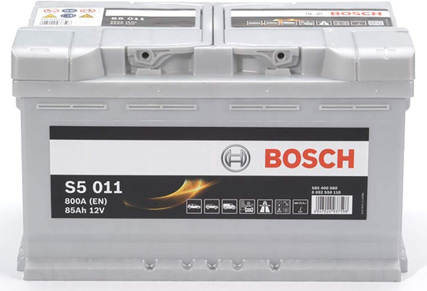 Autobatterie 12V 85Ah 800A VARTA F19 Silver Dynamic Starterbatterie 585400080