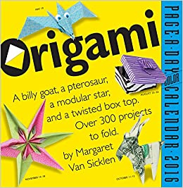 Origami Page-a-Day 2016 Calendar