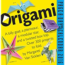 Origami  Color Page-A-Day Calendar 2016