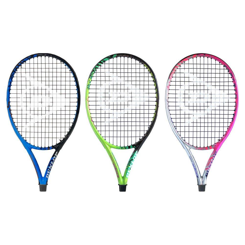Dunlop Idapt fuerza 100S Raqueta de tenis, color azul y negro ...