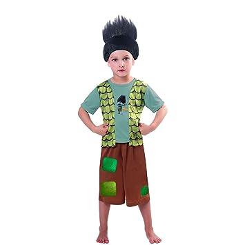 Child Boys Trolls Branch Costume (3 4yr)